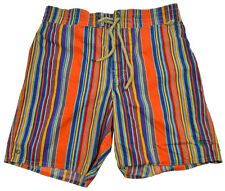 Polo Ralph Lauren Swim Trunks Shorts M Classic Striped Lined Pony Mens