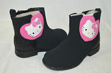 Toddler Girls' Hello Kitty Chelsea Black Boots - Assorted Sizes