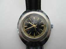 vintage omax watch, ticking sold as is