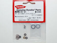 KYOSHO MINI-Z MDW018-01 BALL DIFF MAINTENANCE KIT AWD MA010