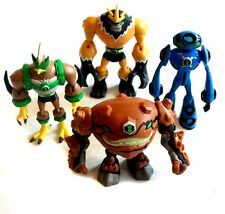 Official Cartoon Network BEN 10 cartoon Job lot of Toy Figures, good condition.