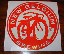 NEW BELGIUM BREWING Promo Sticker BICYCLE LOGO craft beer brewery Fat Tire