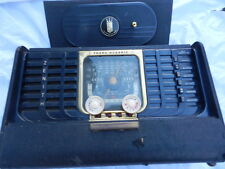 Vintage Zenith Trans-Oceanic Portable AM Shortwave Multiband Radio Model G500