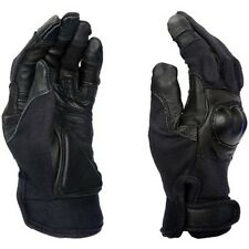 Lancer Tactical Touch Screen Friendly Hard Knuckle Shell Gloves Black Size Small