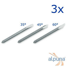 3 Plottermesser für Summa D - 35°/45°/60° Summagraphics Summasign Summa Plotter