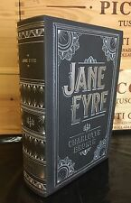JANE EYRE by CHARLOTTE BRONTE Leatherbound Collectible & BRAND NEW!!!