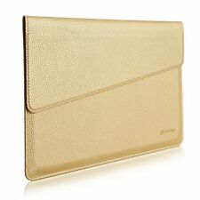 Apple Macbook 12 ipad pro Case Leather Carrying Laptop Notebook Sleeve Bag  New