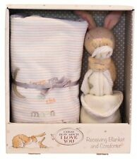 Guess How Much I Love You Nutbrown Hare  Blanket & Comforter Baby Toy Gift Set