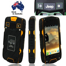 "Unlocked 4"" JEEP Z6 Smartphone Quad Core Rugged Android 2G/3G Cell Phone MTK6572"