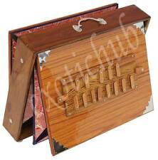 "SHRUTI BOX~TEAK WOOD~BIG SIZE (16"" X 12"" X 3"")~C TO C~440 Hz~YOGA~MANTRA~KIRTAN"