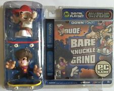 Tech Deck Bare Knuckle Grind - w/2 figures & PC Game - Downtown (3649)