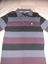 Chelsea FC Official Blue Flag Polo Shirt Mens Small