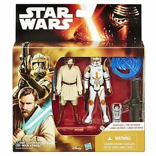 Star Wars The Force Awakens Obi-Wan Kenobi Commander Cody 2 Pack Desert Mission