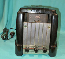 RARE 1948 RCA MI-12875 CARTRIDGE WIRE RECORDER ART DECO BAKELITE CASE