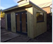 20x10ft (6x3m) Fully Insulated Cabin Office, Summerhouse, Mancave, Guest Bedroom