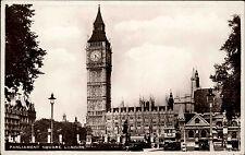 London England Postcard 1948 Excel Series Parliament Square Parlament gelaufen