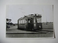 N181 - 1950s AMSTERDAM CITY TRAMWAYS ~ TRAM No418 PHOTO Netherlands