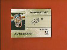 CHET PICKARD - 2009-10 ITG Superlative Prospect Auto Silver #d/40 - Predators