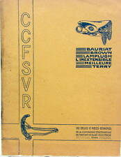 1934 SELLES BAURIAT BROWN LAMPLUCH INEXTENSIBLE MEILLEURE TERRY  MOTO VELO
