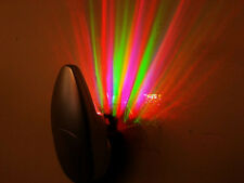 Colorful Rainbow Rays Wall Plug LED Night Light Energy Saving Color Lamp 110V