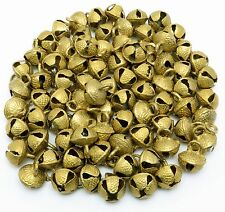 Lot of 80 Pcs Vintage Indian Brass Horse Sheep Camel Sleigh Bells 400 gm 19mm Ht