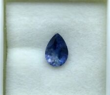 Benitoite Faceted Gemstone, .57 carats, #bf1122