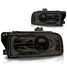 92-98 BMW E36 3 Series/M3 Smoke Halo Projector Fog Lights Pair