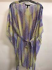 NEW  BCBG Bt Lime Co Flutter Dress XS $248 KAG63E96