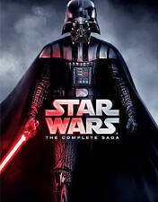 Brand New Star Wars: The Complete Saga (Blu-ray Disc, 2011, 9-Disc Box Set)