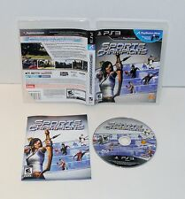 Sports Champions  Sony Playstation 3,  ps3   complete