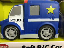 TOY ELEMENT SOFT R/C CAR *POLICE TRUCK* 27 MHz - NEW - FREE SHIPPING