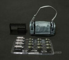 1/6 Scale Hot Toys MMS249  Joker Bank Robber 2.0 Retractable Bag w/ Grenade Set