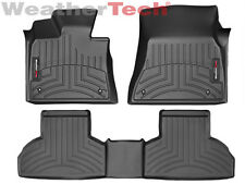 WeatherTech® DigitalFit FloorLiner for BMW X5 - 2014-2016 - Black