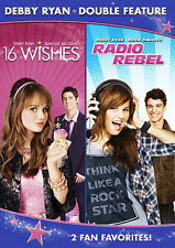 Debby Ryan Double Feature (16 Wishes / Radio Rebel) New DVD! Ships Fast!