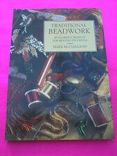 CRAFT BOOK 'TRADITIONAL BEADWORK BY ELIZA McCLELLAND'  BEADING ON CANVAS ETC