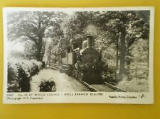 POSTCARD RP LOCO NO 23 AT WOOD SIDING BRILL BRANCH 22/6/35