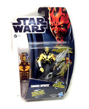 "STAR WARS Clone Wars SAVAGE OPRESS ( Darth Mauls brother) 3.75"" figure toy RARE"