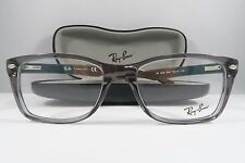 Ray-Ban RB 5228 5546 Grey/Brown/Teal/Blue New Authentic Eyeglasses 53mm w/Case
