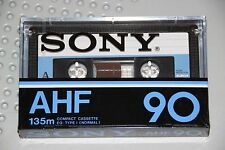 SONY   AHF  90    BLANK CASSETTE TAPE (1) (SEALED)