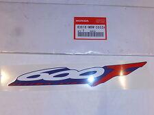 Honda CBR600 F4 nos genuino nuevo viejo stock de la etiqueta engomada x1