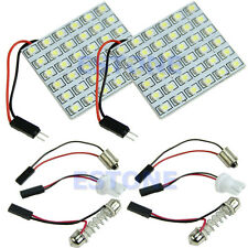 2pcs Panel White 36 SMD LED 1206 Car Interior Dome Reading Light Bulbs Lamp