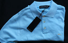 "Ralph Lauren Black Label polo camisa ""mesh Knit"" Aqua talla s"