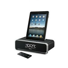 iHome iD91 Dual Alarm FM Stereo Audio Charging Dock for Apple 30 pin Connections