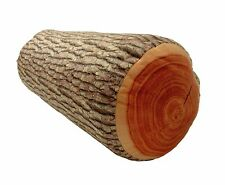 3D Pine Tree Wood Pile Log Soft Cushion Pillow Toy Back Pad Home Decor US Seller