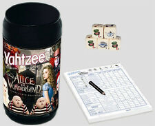 Yahtzee - Alice in Wonderland - Classic Dice Game NEW NIP hasbro usaopoly