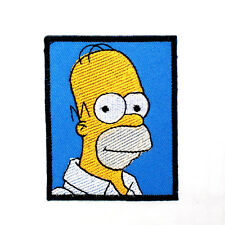 Funny Homer Simpson Family Cartoon T- Shirt Jacket Cap Collectible IRON ON PATCH
