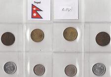 NEPAL 4 COINS MONETE CIRCOLATE IN CONDIZIONE BUONA VEDI FOTO - IDEA REGALO