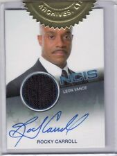 NCIS Rocky Carroll as Leon Vance Auto Costume Card 2 Case Incentive