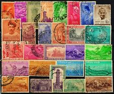 India 28 Different Large Pre 1956-Anna Series Only-Old Mostly Commemorative