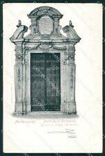 Frosinone Cassino Montecassino Cattedrale Alterocca PIEGA cartolina XB3177
